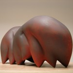 Old Soul - Earthenware, oxide 20x36x20in., 2006