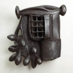 Willie and Jelena Gray - Earthenware and graphite, 28x24x7in., 2009