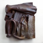 James and Flora Paige - Earthenware and graphite, 26x26x6in., 2009