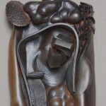 James and Fox Fleming - Earthenware and graphite, 28x24x6in., 2009