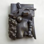Ellis and Anna Mae Thomas - Ceramic on wood, 25x19x6in., 2009