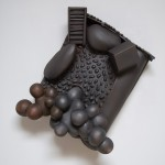 Perry and Henrietta Royal - Earthenware, graphite, acrylic, 24x20x6in date 2012